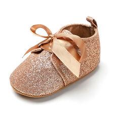 Baby Tassel Soft Sole Glitter Shoes Infant Boy Girl Toddler Moccasin 0-18 Months