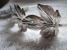 Goody Fashionow Silver Metal Head Band Leaves Greek Costume Headband Leaf Hair