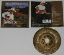 Brad Paisley  Mud On the Tires  U.S. promo label cd