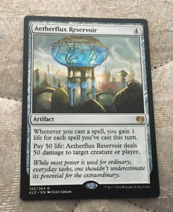 Aetherflux Reservoir - Kaladesh - MTG Magic The Gathering - NM