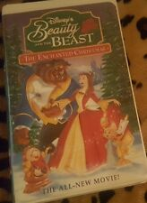 Beauty and the Beast: An Enchanted Christmas VHS