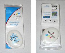 Paraolimpiadi Torino 2006 PARAORECCHIE Earbags Paralympic Winter Gadget ASTER