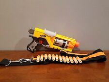 Nerf N-Strike Spectre Rev-5 Blaster Pistole (gelbe Version) mit Munition Gürtel & Munition