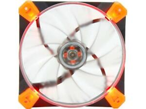 Antec Advance TrueQuiet 120 UFO Rd 120mm Red LED Case Cooling Fan NEW