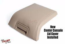 2007-2014 Lincoln Navigator -Center Console Storage Compartment Lid Cover Tan