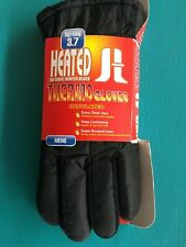 Heated Men's Thermo Gloves 3.7 TOG Rating - Triple Brushed Acrylic Liner Large
