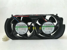 1PC SUNON KDE1207PTVX-A 12V 2.8W XBOX360 Game Enhanced Heatsink Dual Cooling Fan