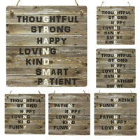 Grandparents Gifts Wooden Rustic Meaning Plaque Grandma Grandpa Gift Word Signs