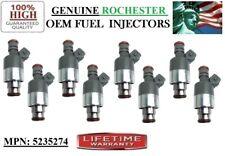 Part#5235274 Rochester (1990 Cadillac Fleetwood 4.5L V8) Set of 8 Fuel Injectors