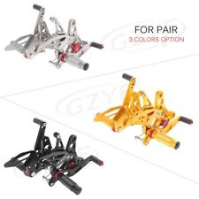 Motorcycle Adjustable Rearset Foot Pegs Pedal for Suzuki SV650/ S60S 2017