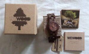 WeWOOD Waves Nut Rough Criss Nut Wood Bracelet Watch