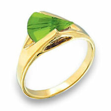 Unbranded Peridot Yellow Gold Filled Fashion Rings