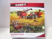 NEW Case IH 8230 Combine Picking Corn TEAMWORK #71439 1000 Pc Jigsaw Puzzle