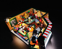 LED Light Kit for 21319 (Ideas Friends Central Perk ) Building Blocks Model