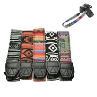 Vintage Camera Shoulder Neck Strap For Nikon Canon Sony Panasonic SLR DSLR