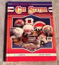 GAS STATION PRICE GUIDE Pumps Globes Signs Hardback Oil Cans 333 pgs