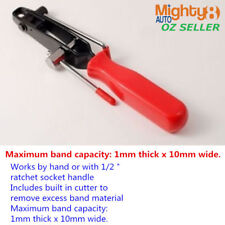 CV Joint Boot Clamp Wrench Hose Clip Tightening Bending Tool Built-in Cutter