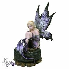 Nemesis Now Premium Fairy Olivia's Call Baby Dragon Gothic Home Gift Figurine