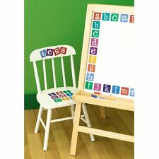 WALLIES ALPHABET KIDS WALL STICKERS COLOURFUL NEW LEARNING KIDS BEDROOM