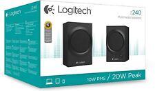 Logitech Z240 Lautsprecher Logitech Z240 Speaker System Logitech Speaker NEU