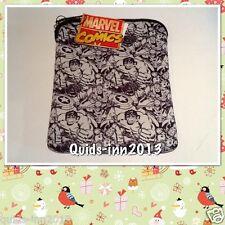 """MARVEL SUPERHEROS iPad tablet 10 """"Custodia COVO manica Ironman Spiderman Hulk"""