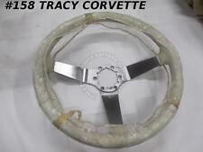 1977-78-79 Corvette NOS Oyster Leather Steering Wheel