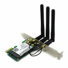 Intel 4965AGN 300Mbps WLAN Wifi PCI-E Network Card Replace for Desktop Adapter