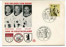 1969 Die Helden Vom Mond Deutschland Armstrong Aldrin Collins Berlin 12 SPACE