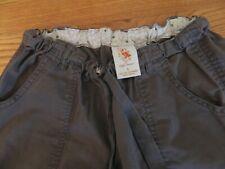 Women's Koi by Kathy Peterson gray scrub pants style 701 size small petite