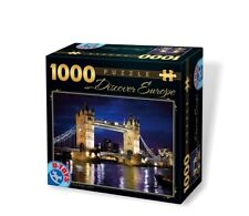 DT65995-DE-01 - *D-Toys Puzzle 1000pc - EUROPE Tower Bridge, London