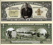 Operation Overlord  D-Day Million Dollar Bill