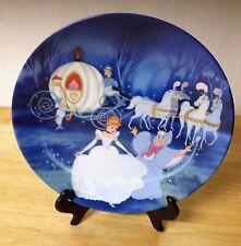 Disney's Cinderella Bibbidi Bobbidi Boo Bradford Collector Plate 1988 Knowles