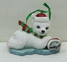 Danbury Mint Baby Animal Ornament- Polar Bear (Box #13)