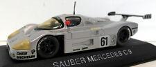 Max 1/43 escala Diecast - 110013 Sauber Mercedes Benz C9 Silberpfeil 1989