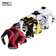 Men's Cycling Jerseys Bike Clothing Long Sleeve Shirts Bicycle Tops Sports S-XXL