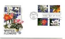 4862-65 Winter Flowers on one ArtCraft FDC