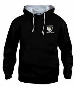 Grimsby Town 1960s Retro Football Hoodie Embroidered Crest S-XXXL