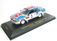 Nissan 240 RS No.3 Rally Monte Carlo 1984 (T. Salonen - S. Harjanne), 1:43
