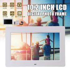 10.2'' Inch TFT-LCD 1024x600 Digital Photo Frame Clock Movie Music Video Player