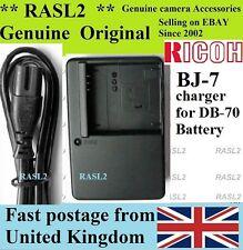 Genuina Original Ricoh Cargador Bj-7 Db-70 Bp-dc6, Caplio R6 R7 Caplio R8: Ricoh
