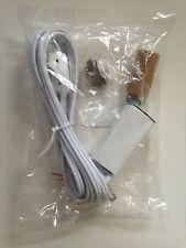Lighting Kit with Candelabra Socket 6 ft white cord 7 1/2 wt bulb Christmas tree