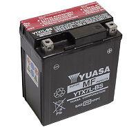 Yuasa YTX7L-BS 12V 6Ah Matterie pour Moto