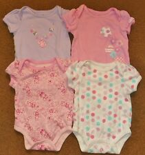 4 Girls ONE PIECE Sies 0-3 Months SMALL WONDERS Easter Bunny