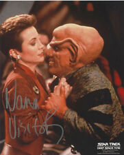 STAR TREK:NANA VISITOR AUTOGRAPH PHOTO #4 FROM CREATION ENT