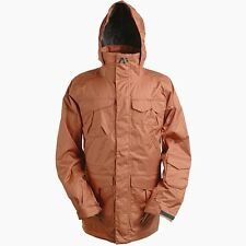 Analog Freedom Snowboard Jacket (L) Redwood