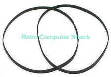 """Amstrad CPC 6128 & 6128 Plus, PCW 8256, 8512, FD1, DD1 3"""" Disk Drive Belts x2"""
