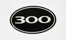 """300"" Front Grill Badge Fits Chrysler 300 300C 2005-2010"