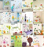 Nursery Room Wall Sticker Decal Kids Baby Home Decor Art Mural Vinyl Gift