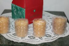 Avon 2000.4 Votive Candles.Gingerbread