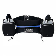PROTONE hydration belt and water bottles with storage pocket for running